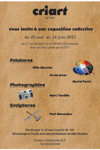 Exposition CRIART